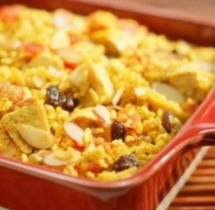 Arroz de frutos secos