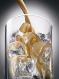 Baileys shaken with ice
